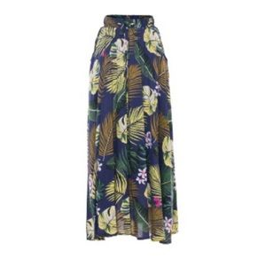 Vestitibello Long Floral Maxi Skirt